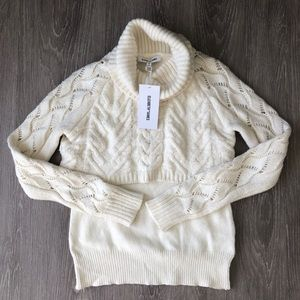 NWT Elizabeth & James Layered Turtleneck Sweater